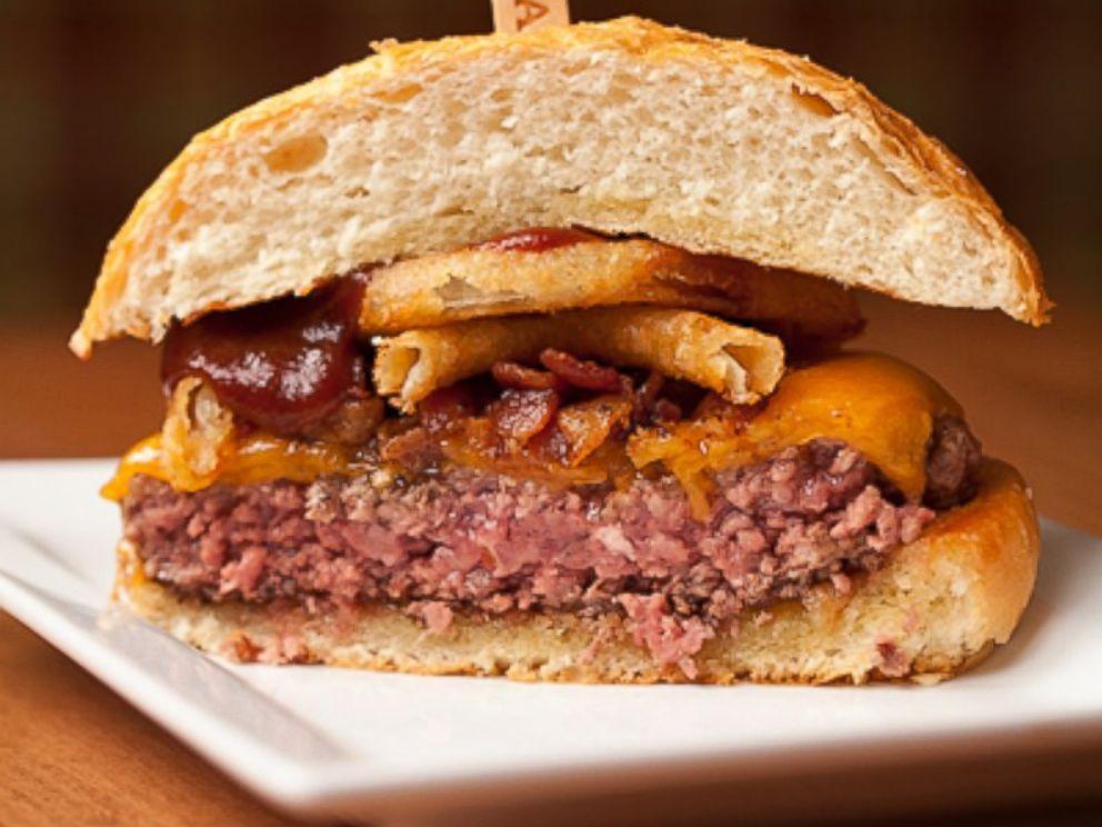 PHOTO: A view of a medium-rare burger, courtesy of St. Louis Magazine.