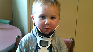 Photo: Boy Suffers Internal Decapitation: Car Accident Severs Two-Year-Old Boys Skull From Spine