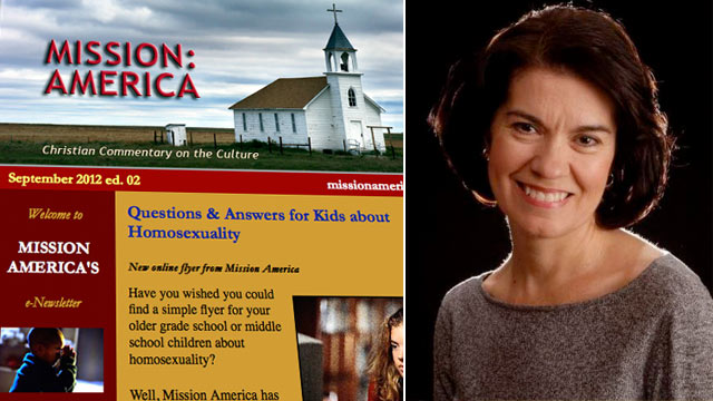 PHOTO: Mission: America was founded in 1995 by Linda Harvey.