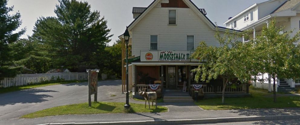PHOTO: The Mooseshack restaurant in Fort Kent, Maine is seen in this undated grab from Google Maps.