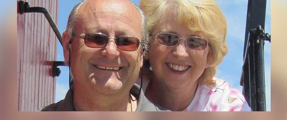 PHOTO: David Writebol, left, and Nancy Writebol, right, are pictured in an undated photo posted by SIM.