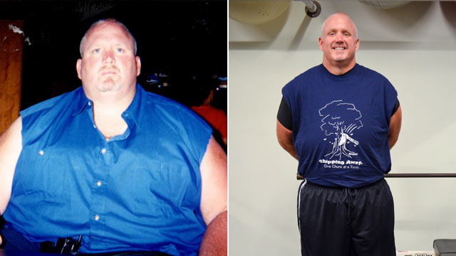 Man Loses 370 Pounds the Old-Fashioned Way, Reclaims Life