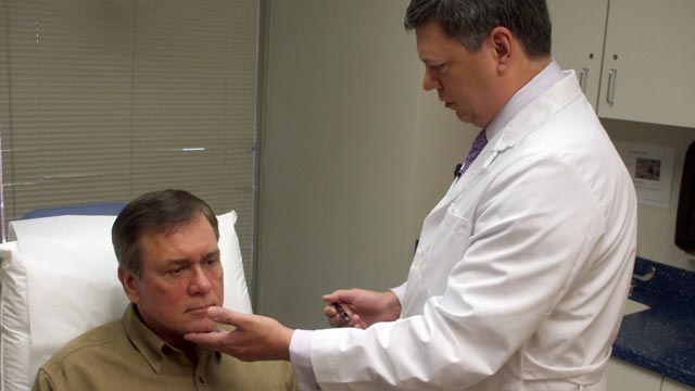PHOTO Nationwide, the number of men seeking facelifts has increased 14 percent in the last year.