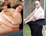 PHOTO: Paul Mason, left, is pictured at his heaviest. On the right, Paul Mason lost 630 lbs.