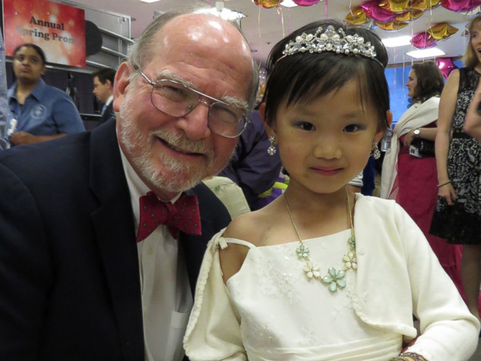 PHOTO: Pediatric oncologist Dr. Paul Meyers poses for a picture with one of his patients.