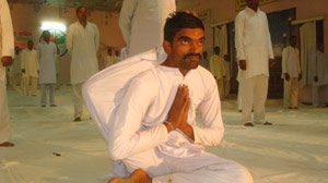 The prisons of Indias state of Madhya Pradesh offer special yoga classes to the incarcerated.