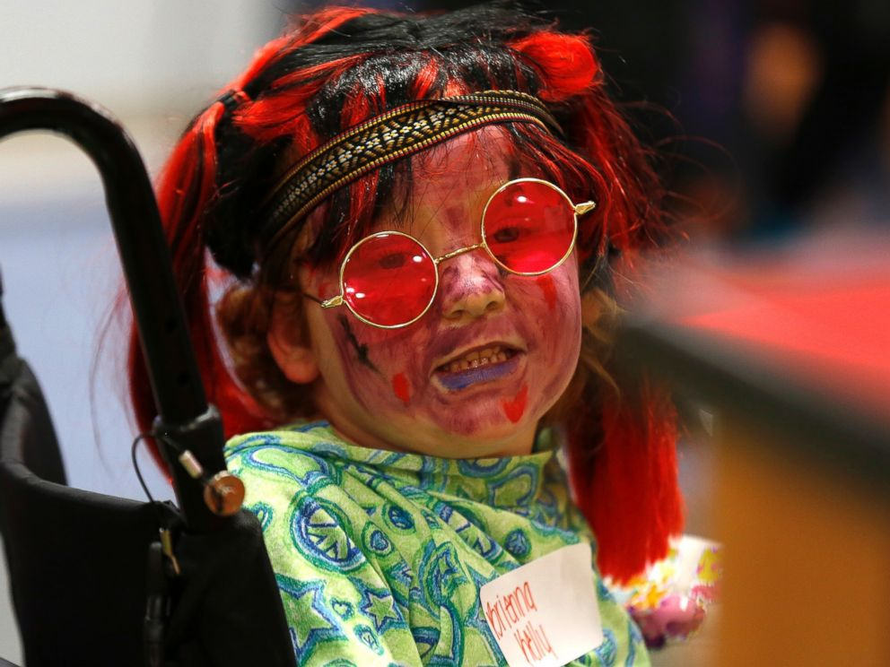 PHOTO: Most of the children will not be able to leave the hospital to go trick-or-treating during Halloween.