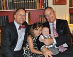 """PHOTO: Tommy Starling (left), with his husband Jeff and two children, was at a Fathers Day luncheon at the White House June 14, nominated by the Family Equality Council as an """"influential father."""""""