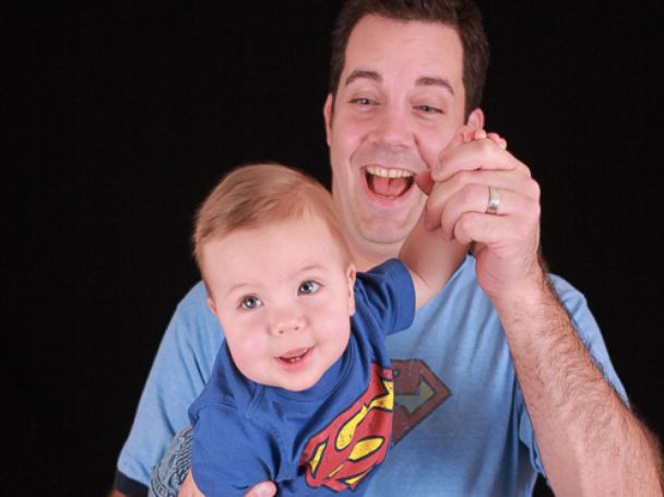 PHOTO: Superman and car-racing fan Chris Kmetz, who died Feb. 28, 2015, before saving two lives after his kidneys were donated, is pictured here.