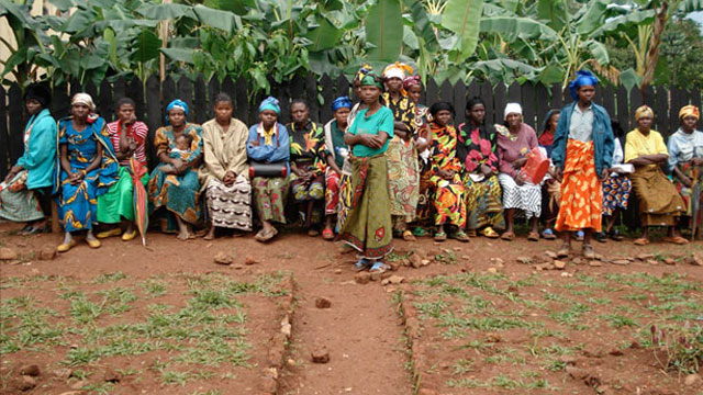 PHOTO:These Congolese women are sponsored by A Thousand Sisters, the first national grassroots effort for women in Congo, which to date has raised more than $11 million.