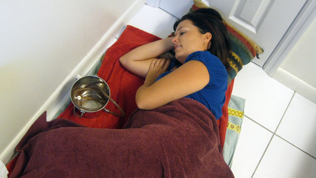 "PHOTO: Trina and her husband are addicted to coffee enemas and are highlighted in TLCs series, ""My Strange Addiction."