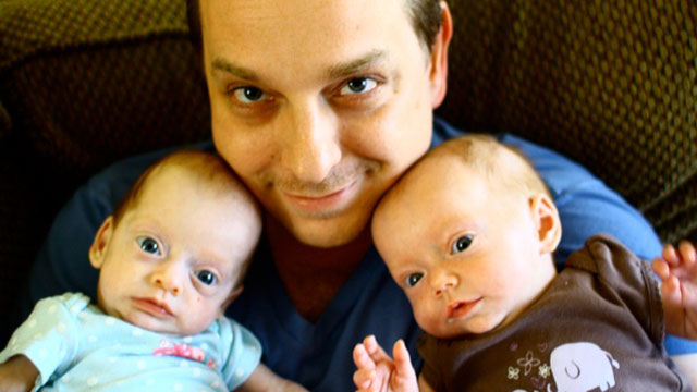 PHOTO: Tyson Wallis died suddenly of a rare heart condition. Soon after his death, his twin daughters were diagnosed with the same condition.