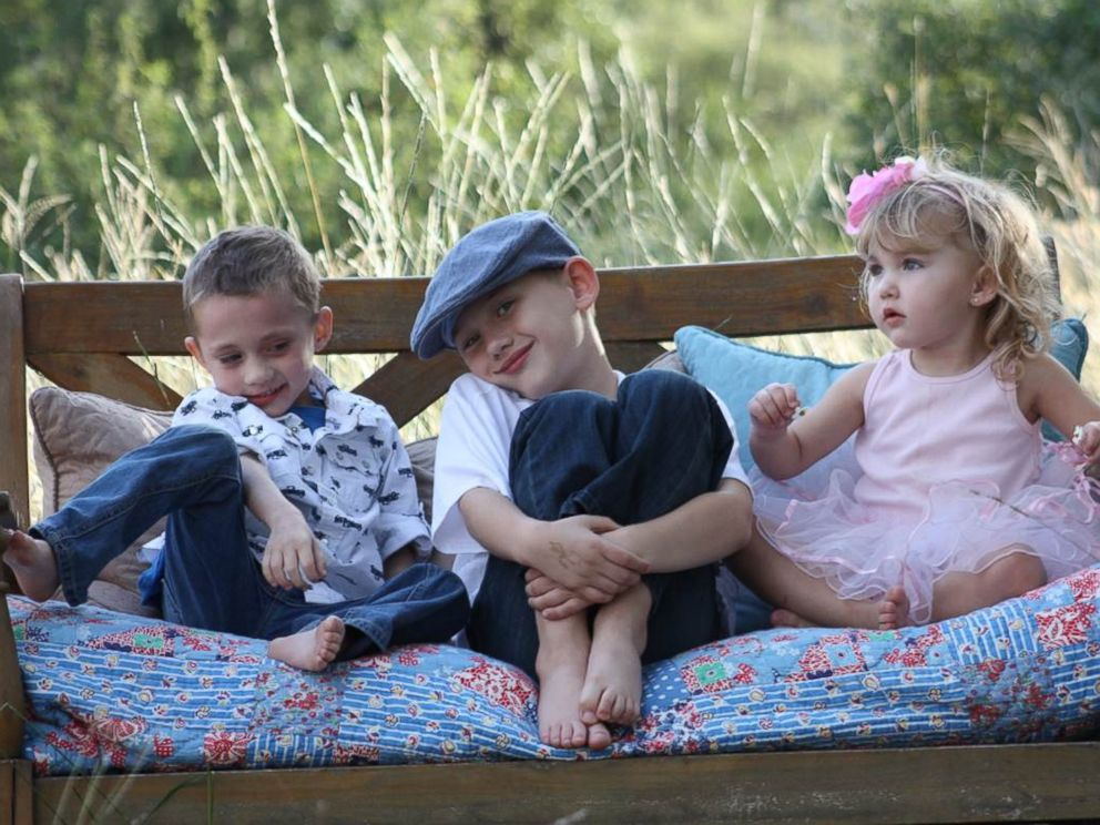 PHOTO: Whitnie Strausss son, Reid, pictured on the left with his siblings Rhett and Cora, had been to 20 doctors before he was 2 and a half, but no one could figure out what was causing all his symptoms.