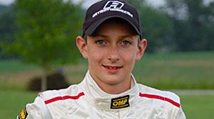 "Sixteen-year-old race car driver Zach ""Ziggy"" Veach"