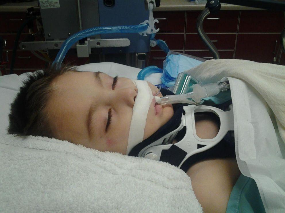 Zakkary Galindo survived a car crash, but is now quadraplegic.
