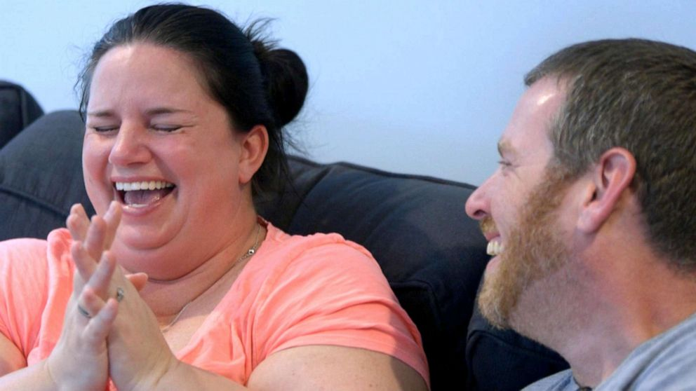 Kerri and Chris Morgan wait for a phone call from their fertility clinic.