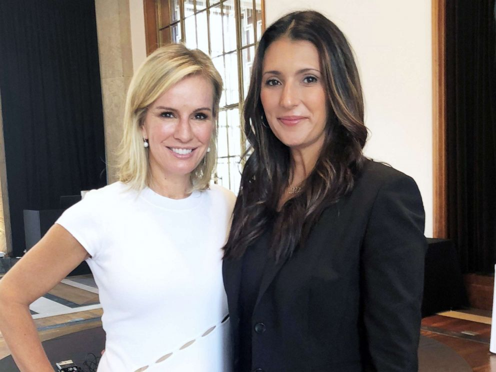 PHOTO: Dr. Jennifer Ashton and Talinda Bennington pose for a photo at the 2nd Global Summit on Mental Health Culture Change in London, October 2018.