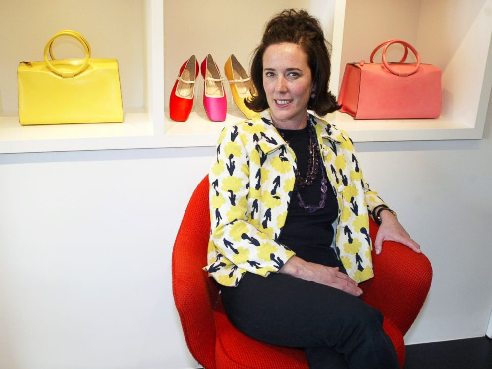 PHOTO: This May 13, 2004 file photo shows designer Kate Spade during an interview in New York.