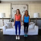 Katie Austin and Denise Austin share a Mother's Day workout.