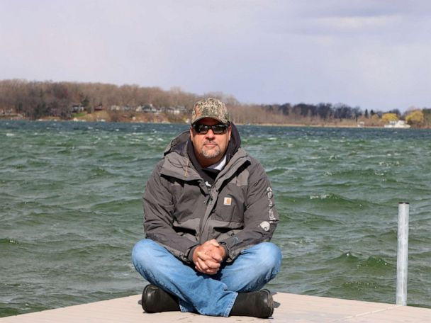 PHOTO: Mark Zona outside his home in Sturgis, Michigan.