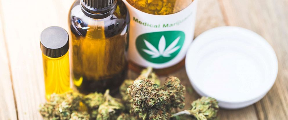 PHOTO: In this undated file photo, medical marijuana products are shown.