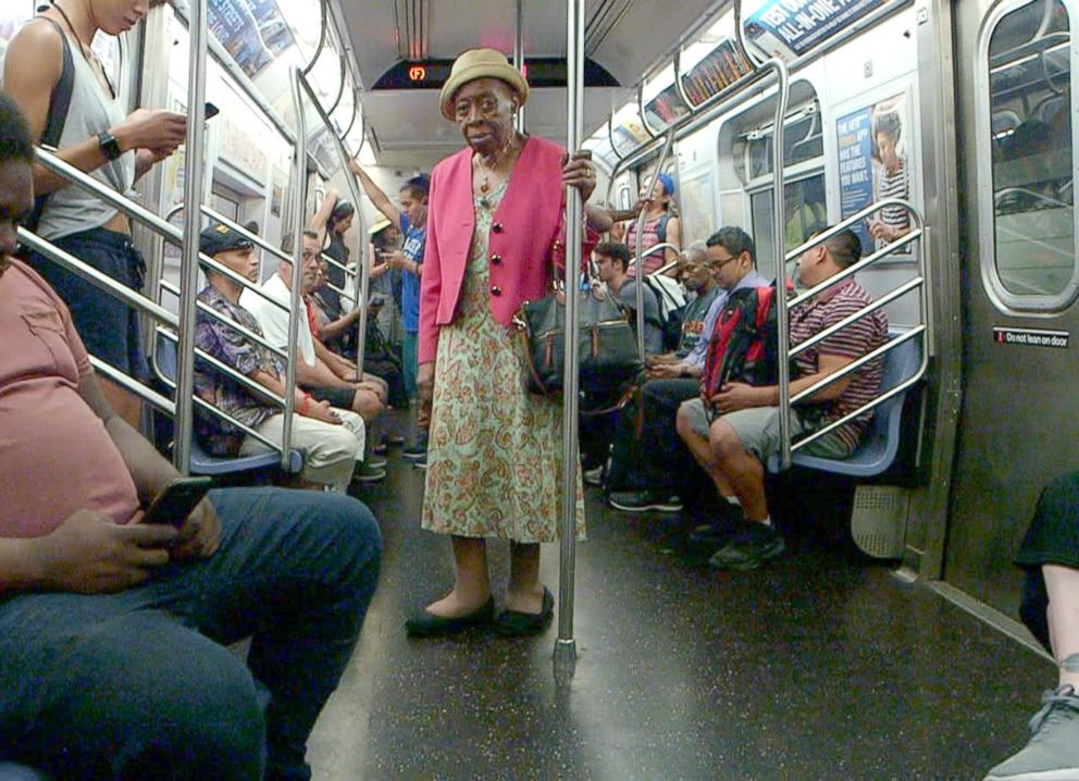 Dr. Melissa Freeman rides the subway to her private practice in Harlem, New York.