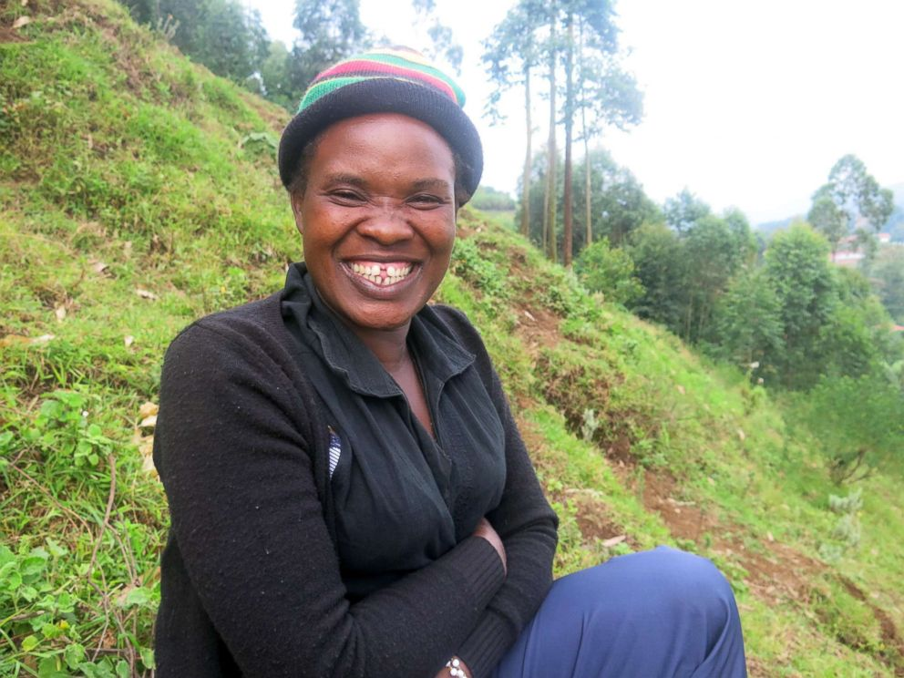 PHOTO: Phiadora Kampire, 30, is a Kisoro woman who lives with schizophrenia.