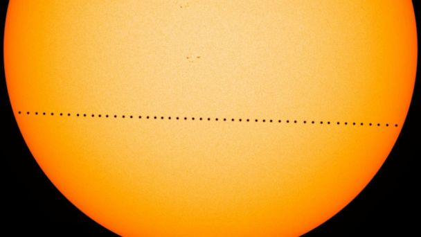 Rare transit of Mercury: How to watch safely as the planet passes in front of the Sun
