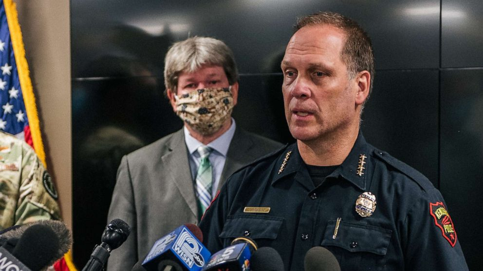 ACLU calls for Kenosha police chief and sheriff to resign in wake of Jacob Blake shooting