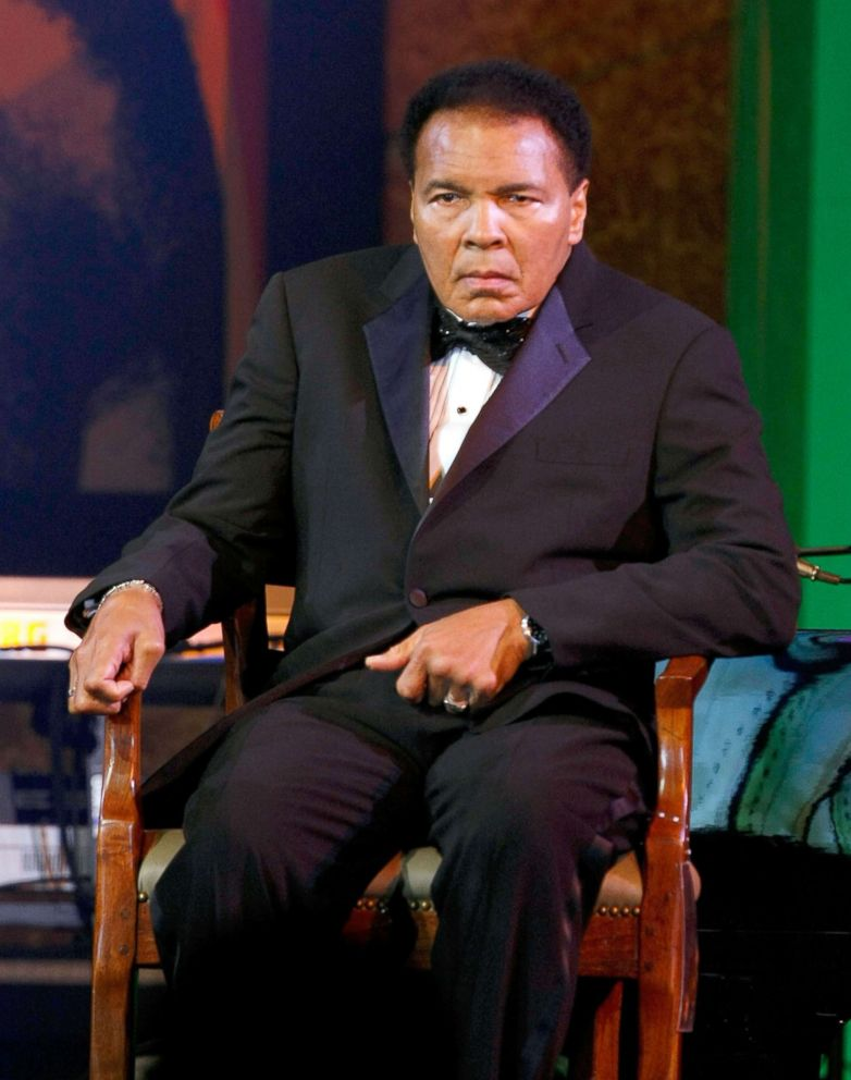 PHOTO: Muhammad Ali at the JW Marriott Desert Ridge Resort & Spa, March 28, 2009, in Phoenix.