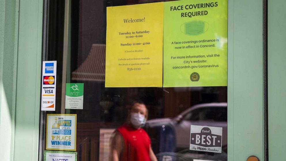 New Hampshire seeing virus spread in rural communities