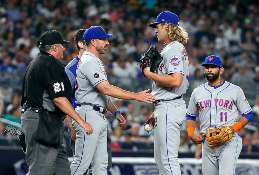 Mets' Noah Syndergaard Lands On DL With Hand, Foot, & Mouth Disease