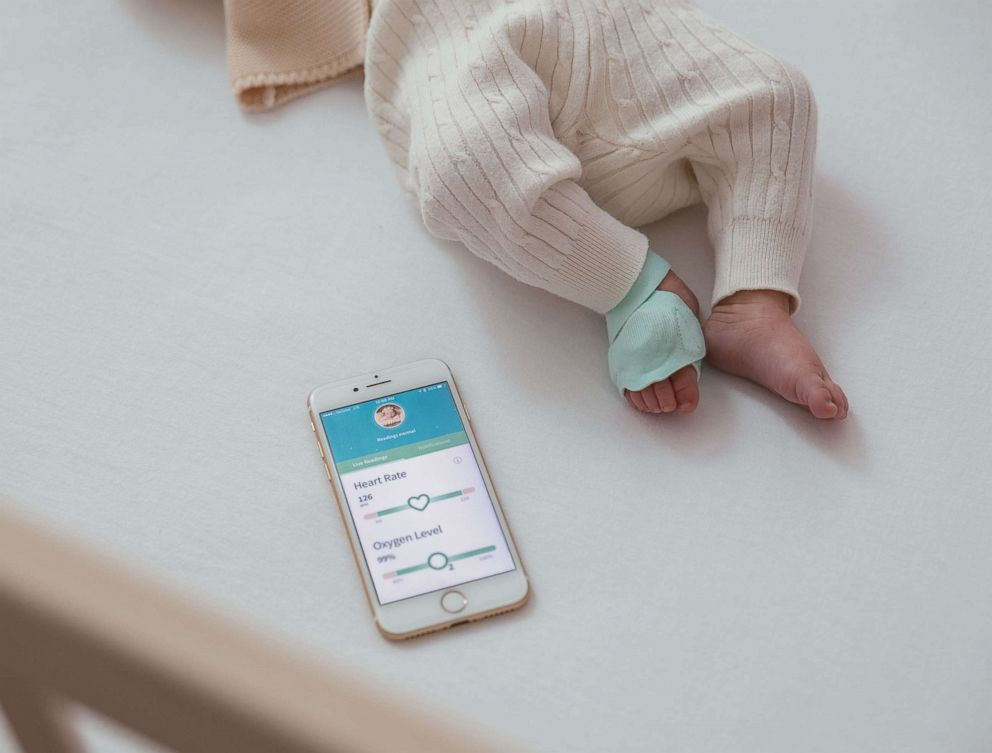 PHOTO: The Owlet Smart Sock is pictured in an undated promotional image.