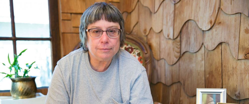 PHOTO: Carol Holcomb lost her home in Paradise, Calif., to the Camp Fire on Nov. 8, 2018. She still struggles with nightmares and flashbacks from escaping the fire.