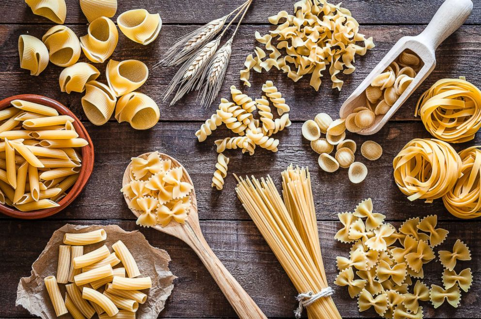 PHOTO: This undated stock photo shows a variety of pasta.