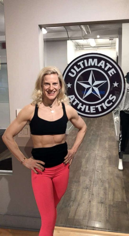 PHOTO: Paula Ryff poses at the Ultimate Athletic fitness studio she co-owns in Toronto.