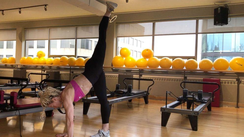 PHOTO: Ultimate Athletics Paula Ryff demonstrates a crouching kick.