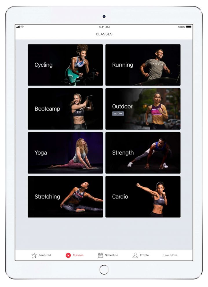 PHOTO: Peloton Digital gives you total body workouts you can take on the go with you.
