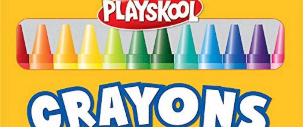 PHOTO: Playskool crayons are pictured in this undated product image.