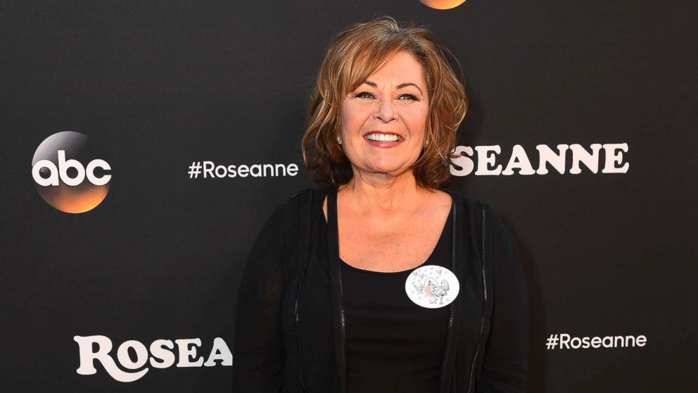 "Roseanne Barr is seen at the premiere of ""Roseanne."""