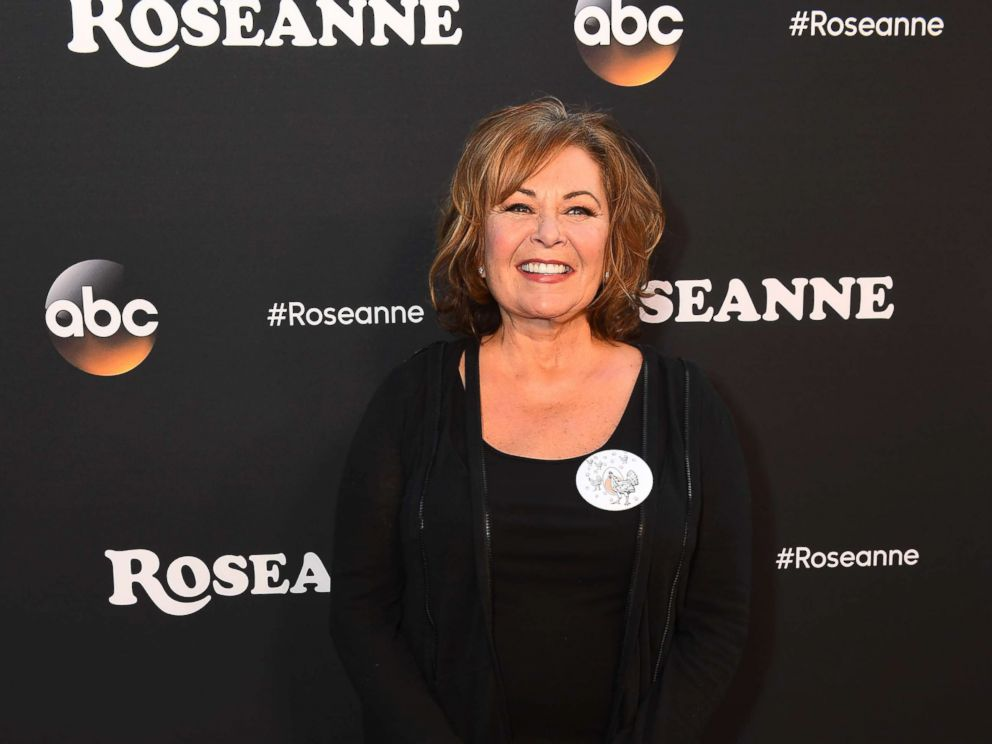 PHOTO: Roseanne Barr is seen at the premiere of Roseanne.