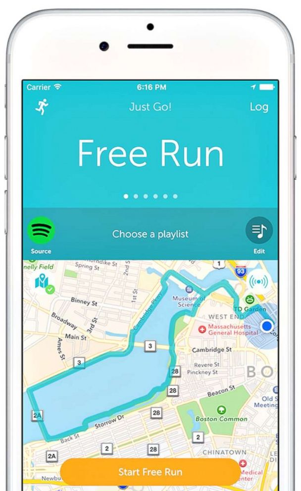 PHOTO: Runkeeper helps you set goals and track your progress.