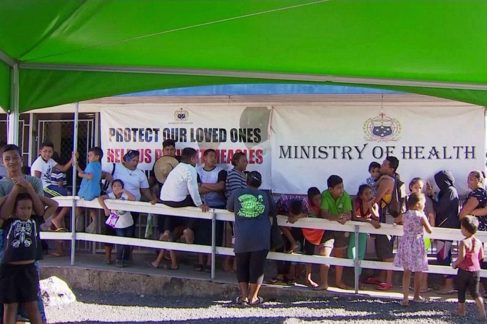 Hopes Samoa measles epidemic close to peaking