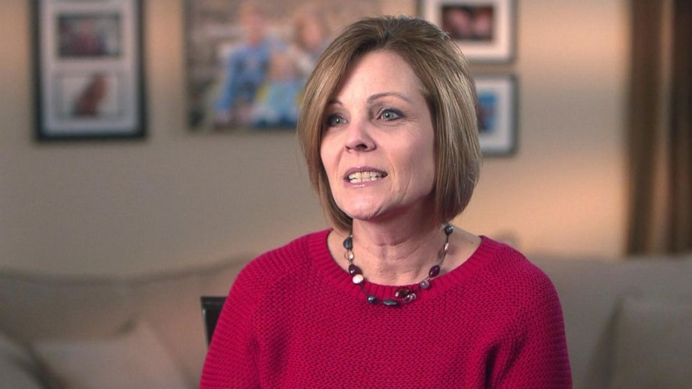 PHOTO: Trisha Sullivan, a schoolteacher from upstate New York, opens up about her heart attack caused by Spontaneous Coronary Artery Dissection (SCAD) in an interview with GMA.