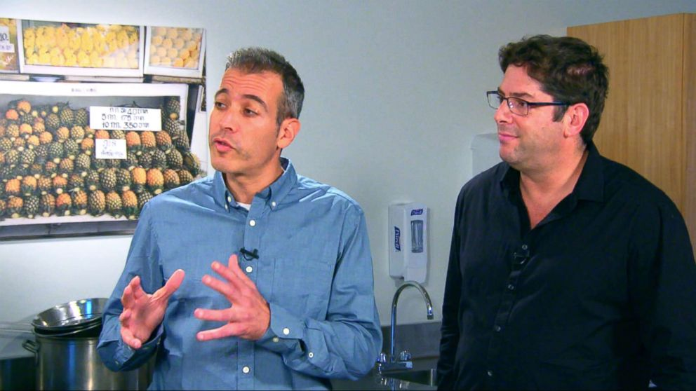 PHOTO: Drs. Eran Segal and Eran Elinav are the authors of a new book, The Personalized Diet.