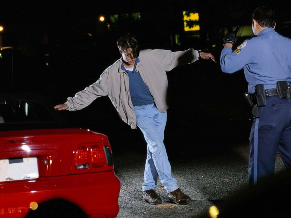 PHOTO: In this undated file photo, a sobriety test is being given.