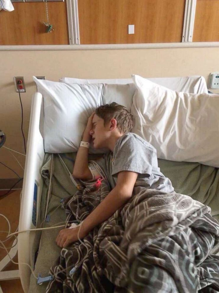 PHOTO: Amber Allens son, Cooper, was finally diagnosed with acute flaccid myelitis.