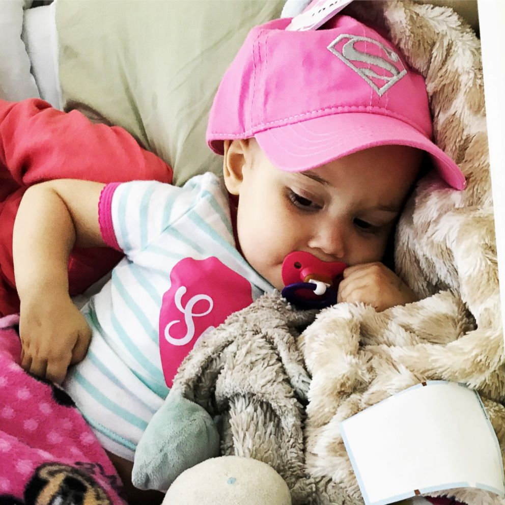 PHOTO: Sophie Skiles, 2, is undergoing treatment for T-cell lymphoma at Childrens Medical Center Dallas.