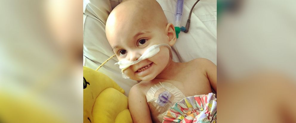 PHOTO: Sophie Skiles, 2, was diagnosed with T-cell lymphoma in May.
