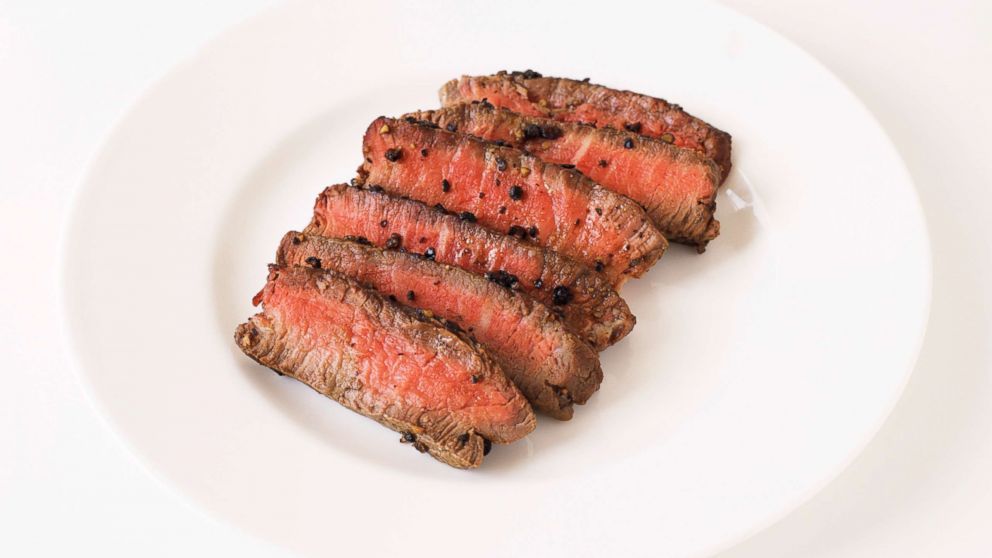 Steak au Poivre is pictured in this undated stock photo.